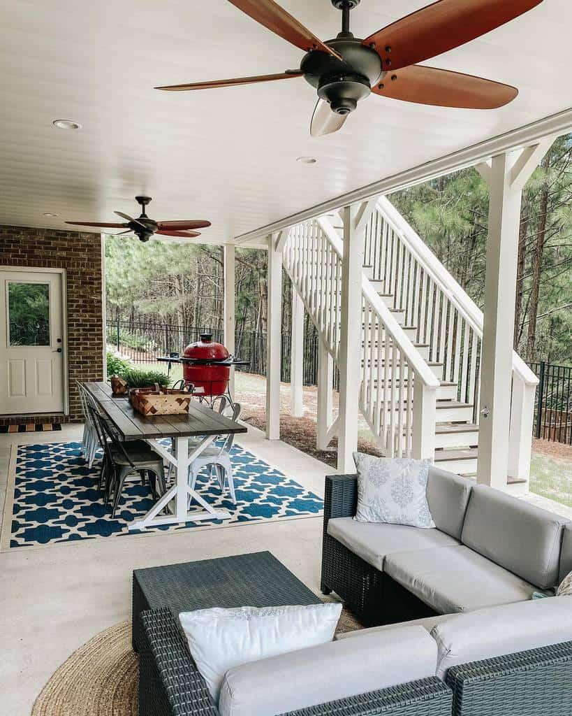 under deck patio deck ideas offjuniperlane