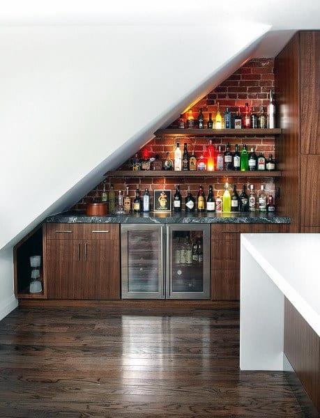 Mini Bar Design Inside The House