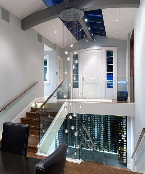 Under Staircase Modern Wine Cellar Designs