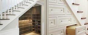 Top 70 Best Under Stairs Ideas – Storage Designs