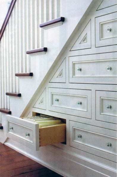 Under Stairs Pull Out Drawers Cool Storage Ideas