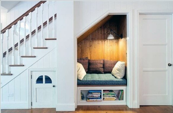 Under Stairs Reading Nook Lounge Ideas