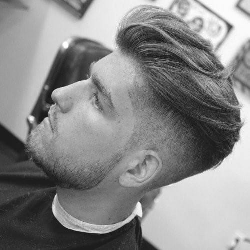 Undercut Hairstyle For Men With Long Hair
