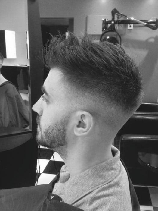 Undercut Mens Short Hairstyles For Thin Hair
