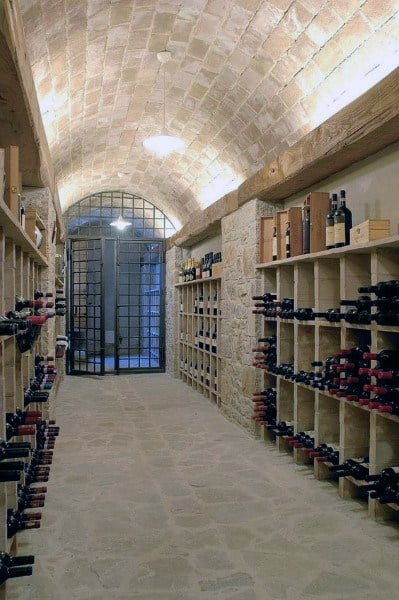 Underground Stone Wine Cellar Ideas