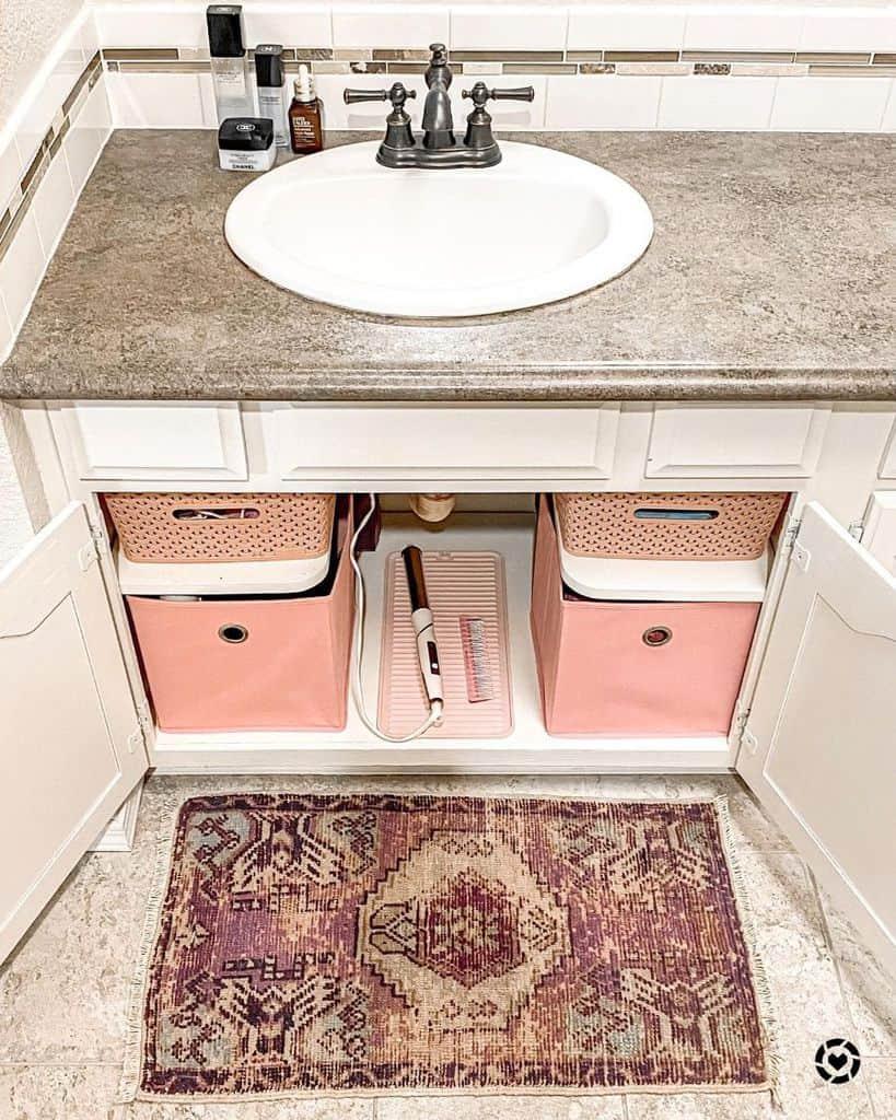 Undersink Bathroom Organization Ideas Yours Truly Julie23