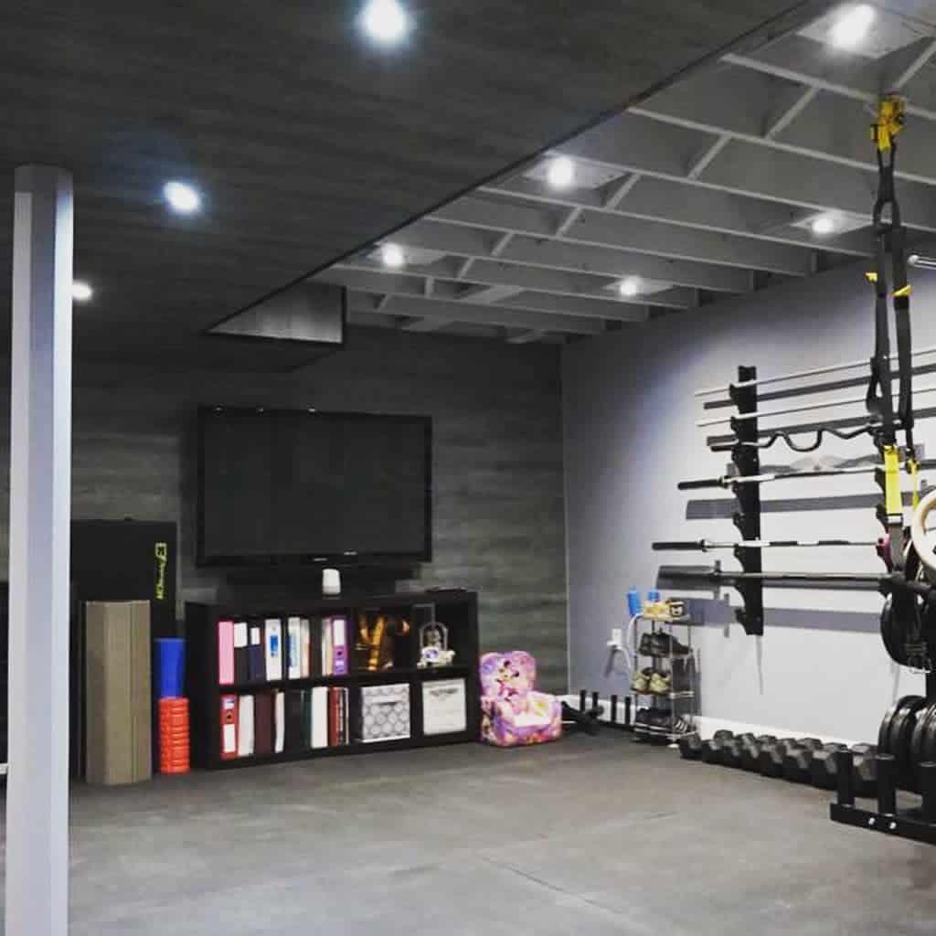 unfinished basement floor ideas basementsforless