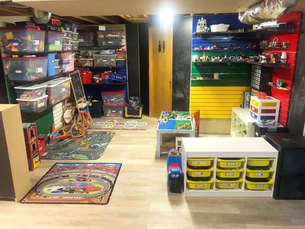 unfinished basement floor ideas simplyblessedjourney