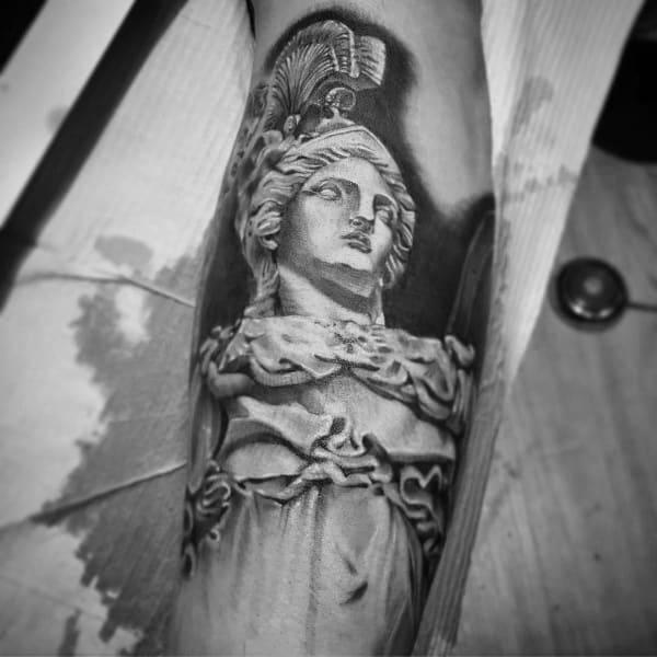 Unique Athena Tattoos For Men