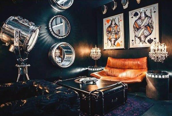Unique Bachelor Pad Living Room Mens Ideas