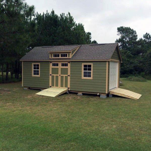 Unique Backyard Shed Home Ideas