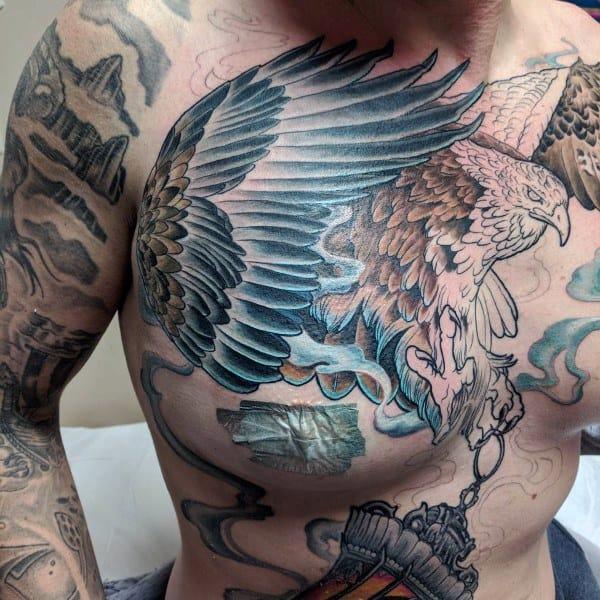 Unique Badass Eagle Tattoos For Men