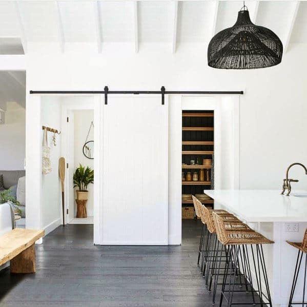 Unique Barn Door Designs Kitchen Pantry