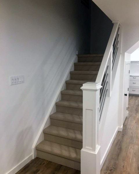 Unique Basement Stairs