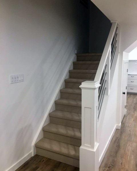 Unique Basement Stairs