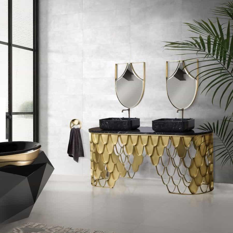Unique Basin Vanity Bathroom Decor Ideas Maisonvalentinaa