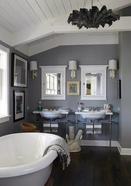 Unique Bathroom Ceilings Ideas