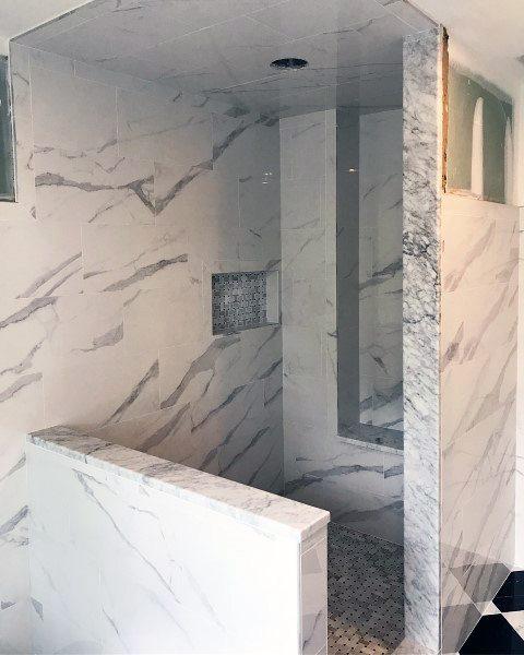 Unique Bathroom Tile Shower