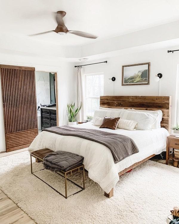 Unique Bedroom Modern Barn Door