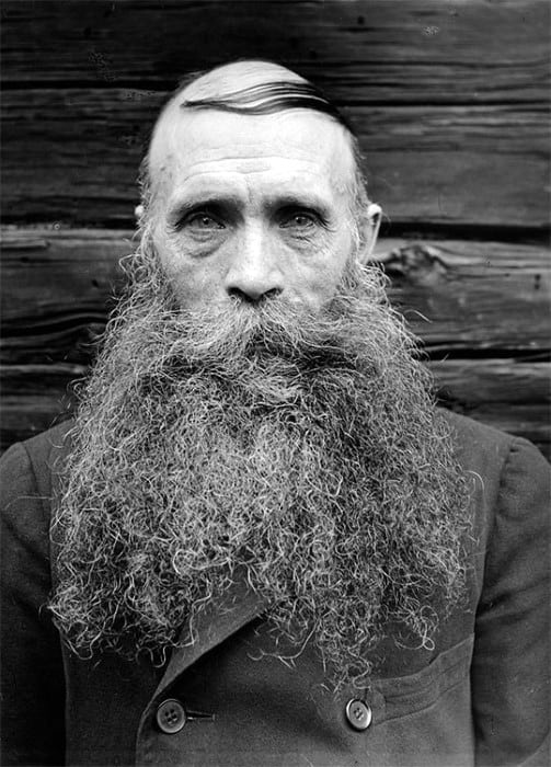 Unique Big Mens Beard Styles