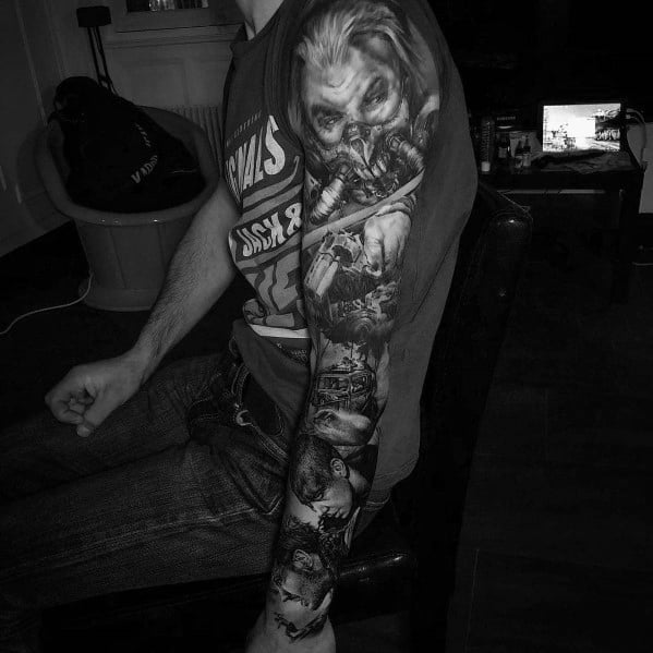 Unique Big Tattoos For Men