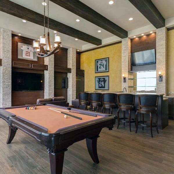 Unique Billiards Room Designs