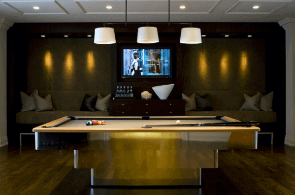 Unique Billiards Rooms