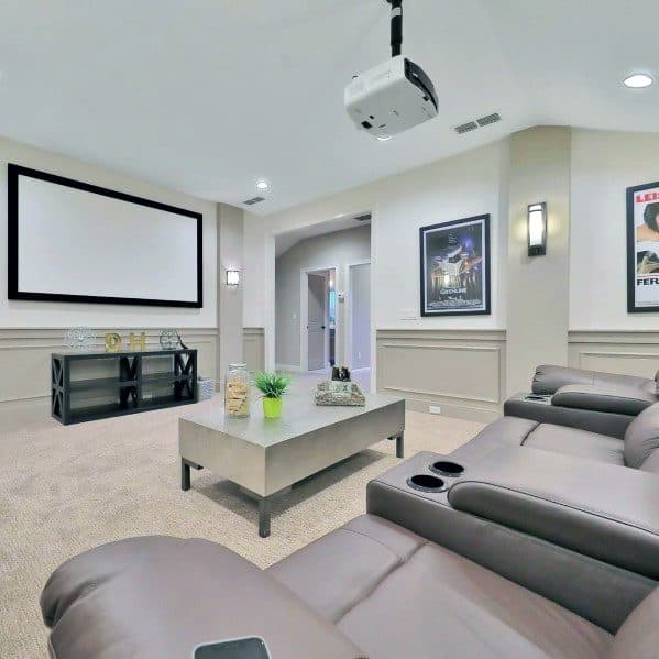 Unique Bonus Room Designs Home Theater