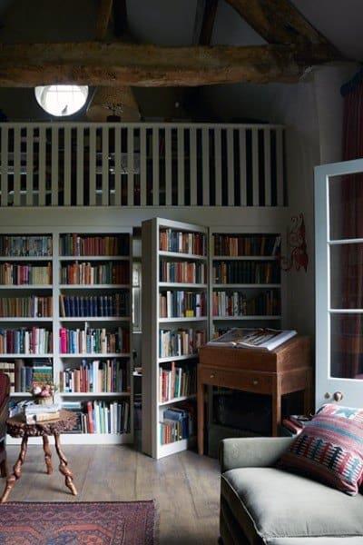Unique Bookshelf Storage Ideas