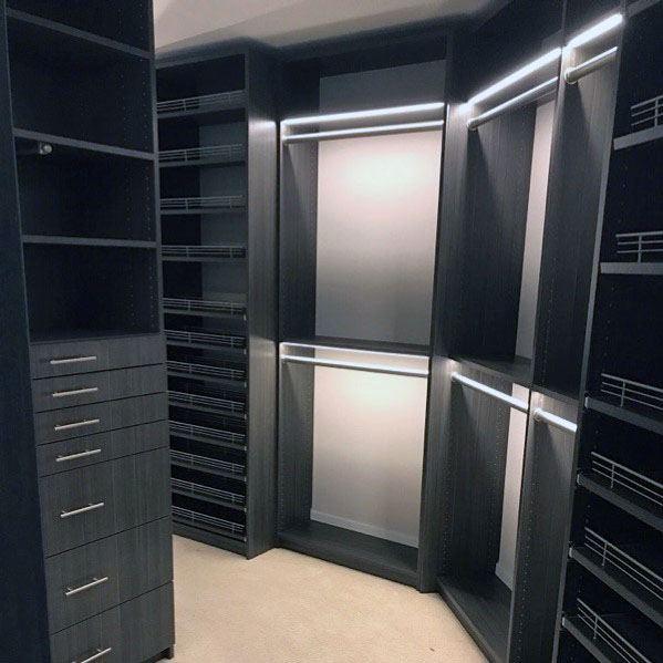 Unique Closet Lighting Designs
