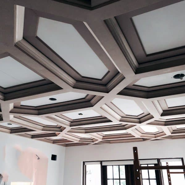 Unique Coffered Ceilings