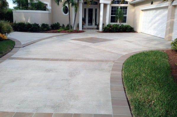 Unique Concrete Driveway Designs