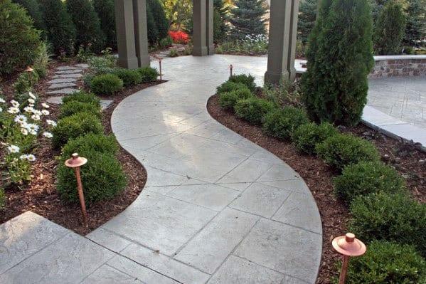 Unique Concrete Walkway Designs