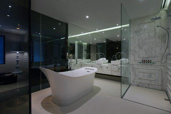 Unique Contemporary Bathroom Mirror Frame Ideas