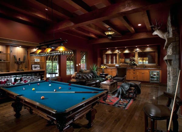 Unique Cool Man Cave Ideas