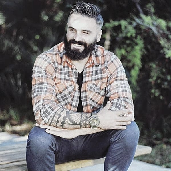 Unique Cool Mens Beard Styles