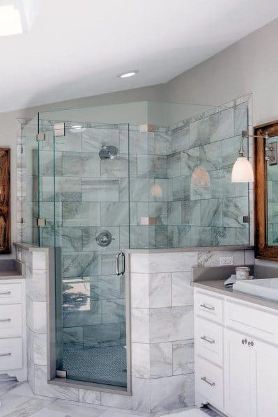 Unique Corner Shower Designs