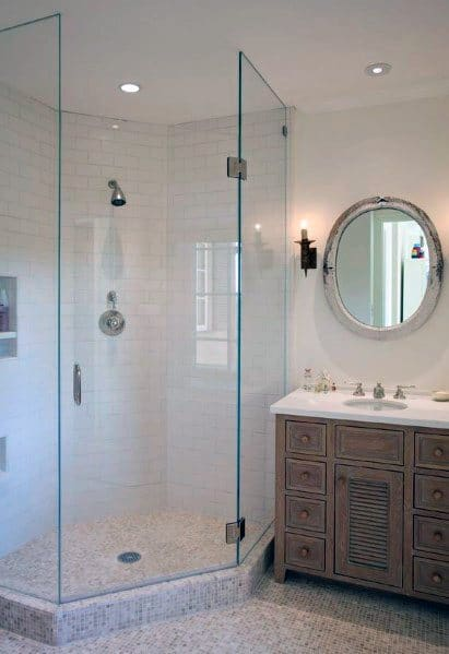 Unique Corner Shower Home Ideas
