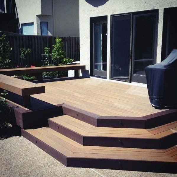 Unique Deck Bench Home Ideas