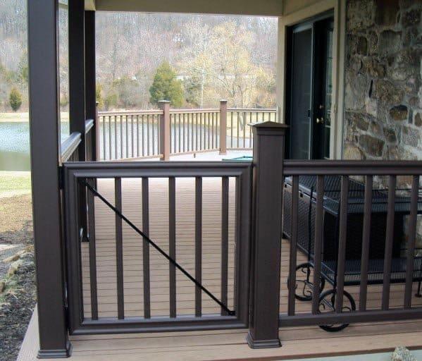 Unique Deck Gate Designs Composite
