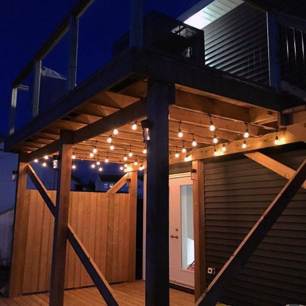 Unique Deck Lighting Home Ideas