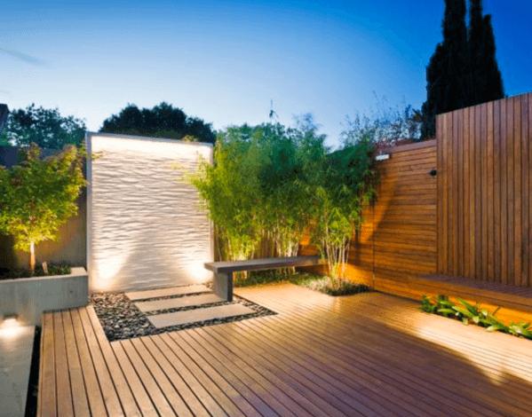 Unique Deck Privacy Wood Gate