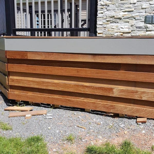 Unique Deck Skirting Home Ideas