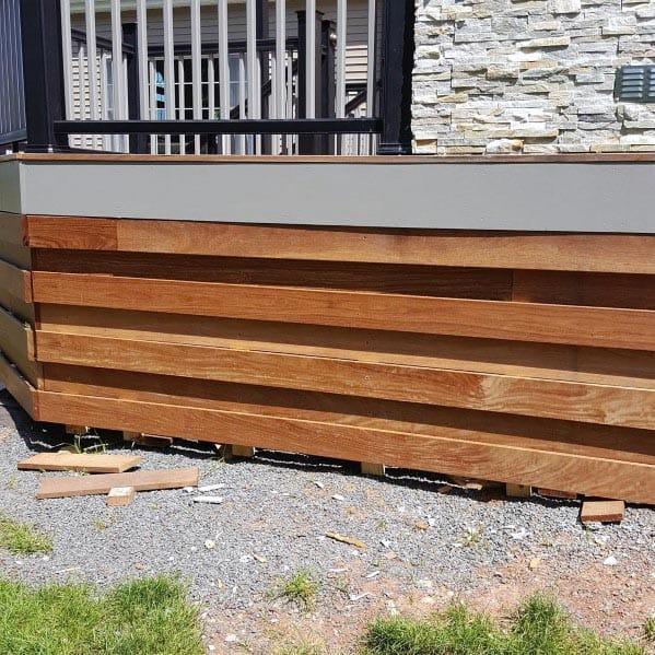 Unique Deck Skirting Home Ideas