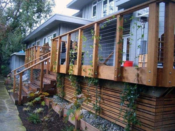 Top 50 Best Deck Skirting Ideas – Elevated Backyard Designs