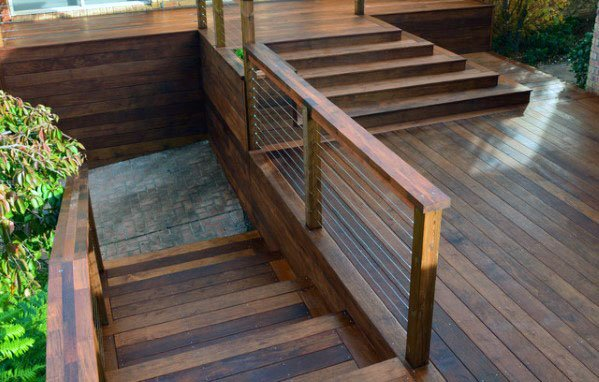 Unique Deck Steps Designs