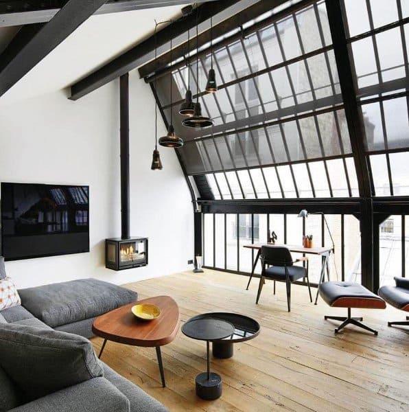 Unique Designs Industrial Interior