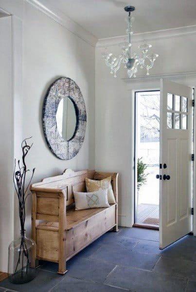 Unique Entryway Tile Home Ideas