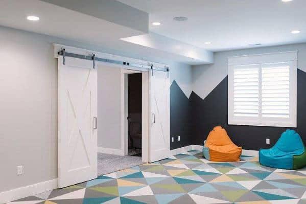 Unique Finished Basement Home Ideas