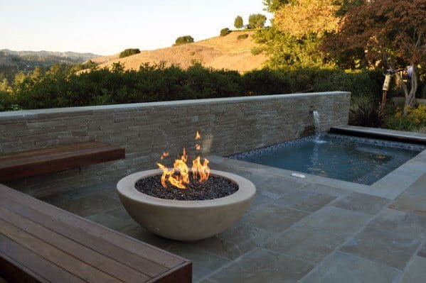 Unique Fire Pit Seating